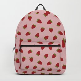 Cute Strawberries Backpack