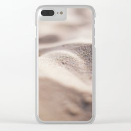 Sand Clear iPhone Case