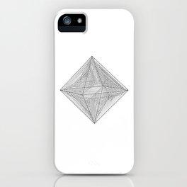 DMT OCTAHEDRON iPhone Case
