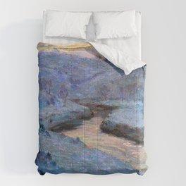 Marc-Aurèle de Foy Suzor-Coté - Mauve and Gold Comforters