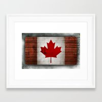 canada Framed Art Prints featuring Canada by Arken25