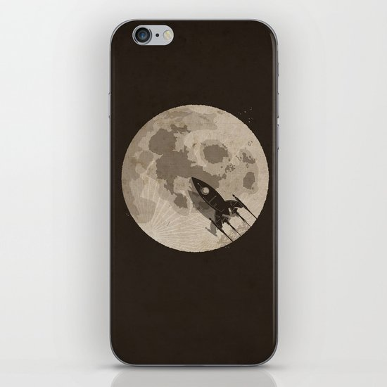 Around the Moon iPhone & iPod Skin