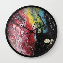 In The Volcano Wall Clock
