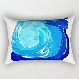 Paint Blob Rectangular Pillow