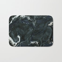 Dark Pegasus Bath Mat