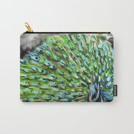 Peacock Alive! Carry-All Pouch