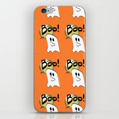 Ghosts Say Boo iPhone & iPod Skin