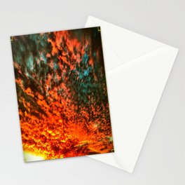 Skies Aflame Stationery Cards