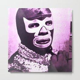 wrestling fighter Metal Print