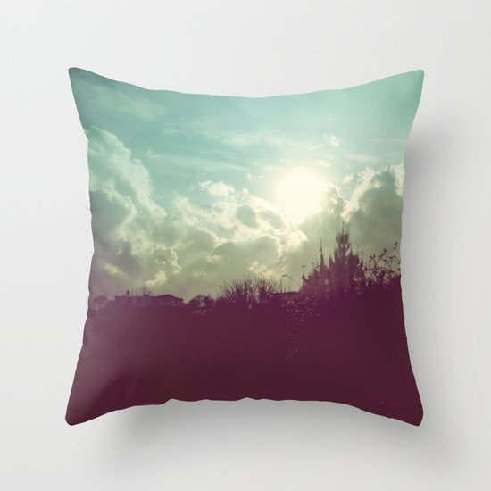 Lomovision Place Throw Pillow