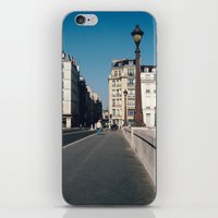Perfect Day in Paris - Ile Saint Louis iPhone & iPod Skin