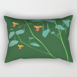 Jewel weed - illustration Rectangular Pillow