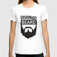 wwe T-shirts featuring RESPECT THE BEARD TSHIRT DANIEL T SHIRT BRYAN WWE TOP TEE WWF WRESTLING FUNNY. by jekonu