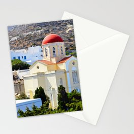 Pyrgos Orthodox church Stationery Cards