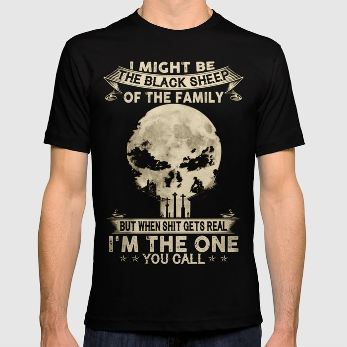 8596e4a7 The Black Sheep - Punisher T Shirt T-shirt by leestore88 | Society6