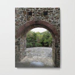 Virgin Islands, Sugar Mill Stone Ruins, St. John, USVI Metal Print