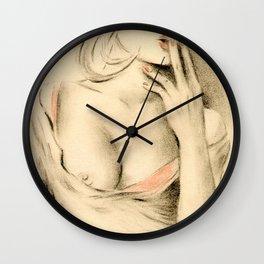Aphrodite der Moderne Wall Clock