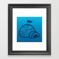Igloo Framed Art Print