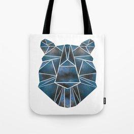 Geo Bear Tote Bag