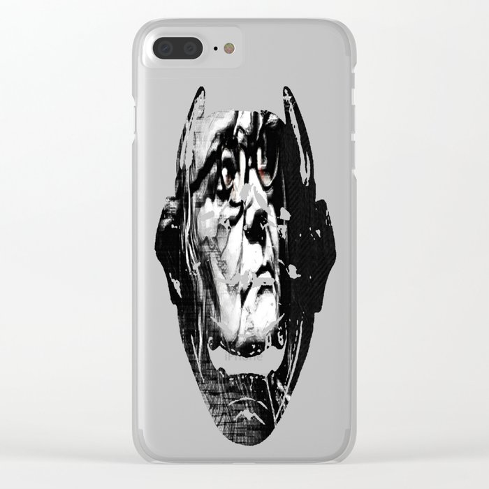 Wretched Clear iPhone Case