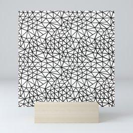 Shattered R Mini Art Print