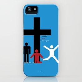 stickmen iPhone Case