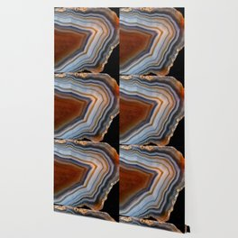 Layered agate geode 3163 Wallpaper