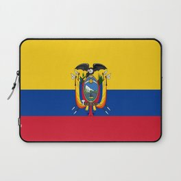 Flag of Ecuador -ecuadorian,Inca,Kichwa,Quito,america, South america,Spanish,Amazonia,latin america Laptop Sleeve