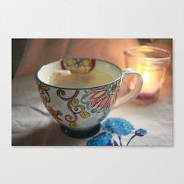 A Cuppa Tea Canvas Print