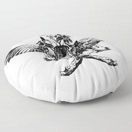 Deathshead - Belladonna Nightshade Floor Pillow