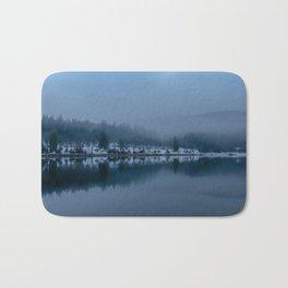 Reflections on a Lake - Landscape Photography Bath Mat