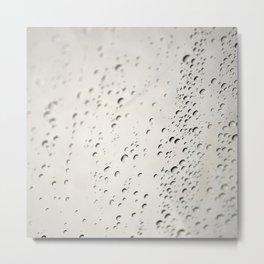 rideau de douche eau Metal Print