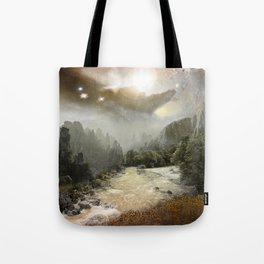 Fantasy landscape #buyart #society6 #decor Tote Bag