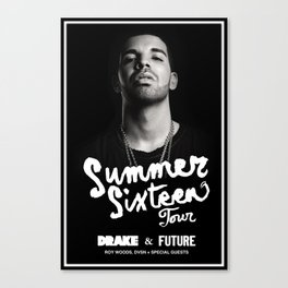 drake summer sixteen 2016 Canvas Print