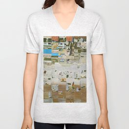 Daytona Beach, Florida Unisex V-Neck