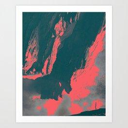 ESCALATION Art Print
