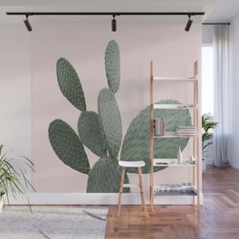 Cactus Pink Photography Wall Mural