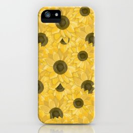 Kansas Sunflowers iPhone Case