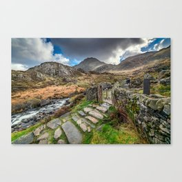 Gate to Snowdonia Canvas Print