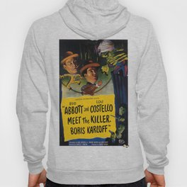 Vintage Movie Posters, Abbott and Costello Meet the Killer Hoody