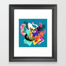 Ibon Framed Art Print