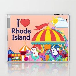 Ernest and Coraline | I love Rhode Island Laptop & iPad Skin