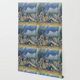 Paul Cézanne - The Bathers Wallpaper