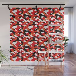 Pop Hit Fashion Camouflage - Hotness Wall Mural
