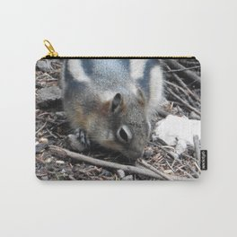 Snacktime Squirrel  Carry-All Pouch