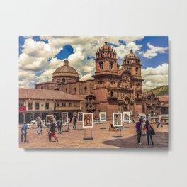 Plaza de Armas, Cusco Peru Metal Print
