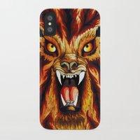 werewolf iPhone & iPod Cases featuring Werewolf by BluedarkArt