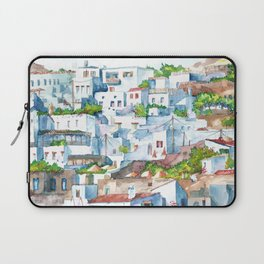 Panorama of Lindos Laptop Sleeve