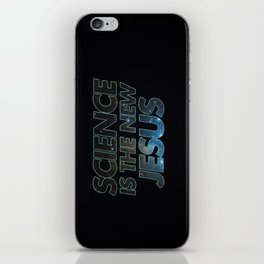 Science is the New Jesus iPhone Skin