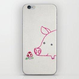 P Pig iPhone Skin